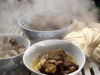 西安小吃之蒸碗