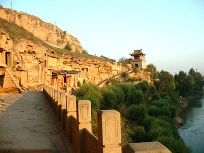 榆林旅游景点:红石峡