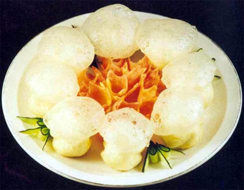 咸阳特色小吃之三原泡油糕