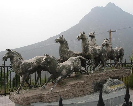 昭陵――唐太宗陵墓