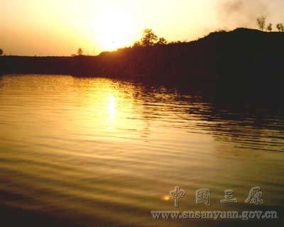 三原风光:池阳湖深秋