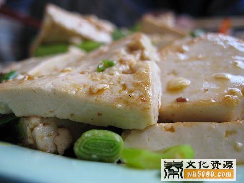 柞水煎豆腐