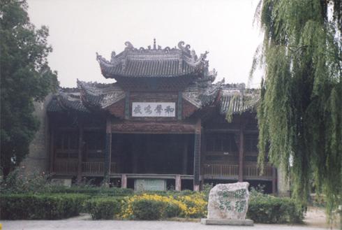丹凤县博物馆(平浪宫、明王宫、花庙、船帮会馆)