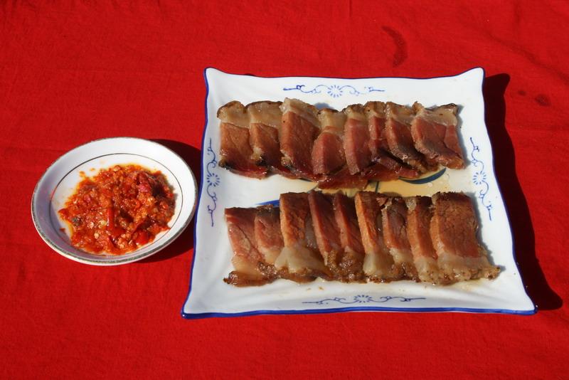 镇安木王砧板肉