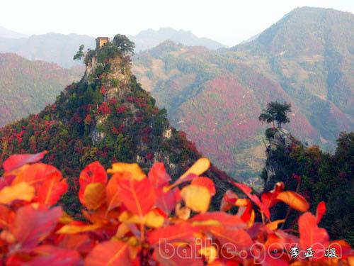 白河县自然风光:二凤山