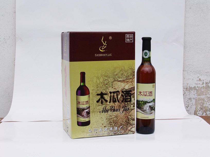 白河县特产:木瓜酒