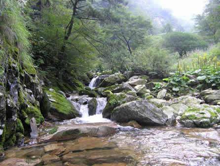 洛南洛河峡谷