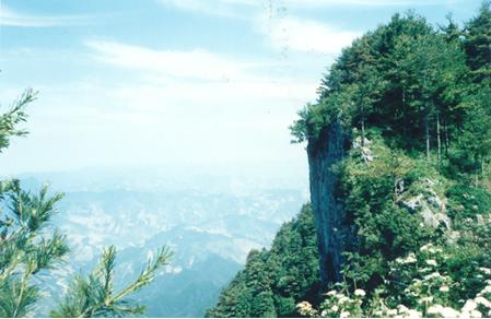 陕西天竺山国家森林公园(天柱山)