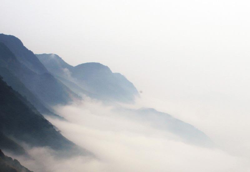 旬邑县旅游景点:石门云海奇观