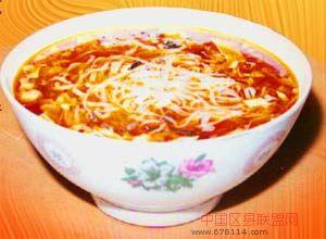千阳县美食:家常臊子面