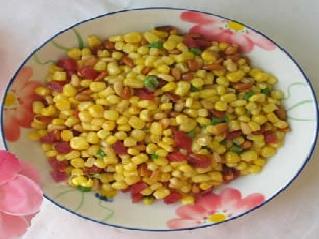 安塞县民间小吃:玉米