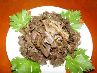 宝塔区民间小吃:卤煮驴板肠