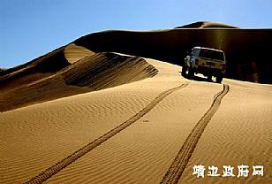 靖边县景点介绍:大漠风光