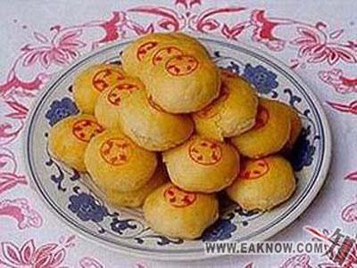渭南市美食:富平太后饼