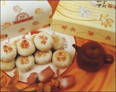 渭南市美食:渭南水晶饼