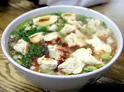 渭南市美食:水盆羊肉