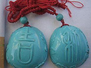 白河县地方特产:白河绿松石雕