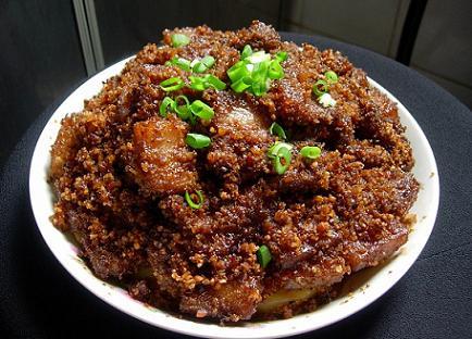 商洛市地方特产:龙驹寨香苜蓿及丹香苜蓿粉蒸肉