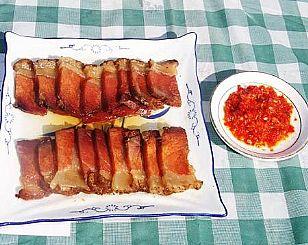 商洛市民间美食:镇安腊肉
