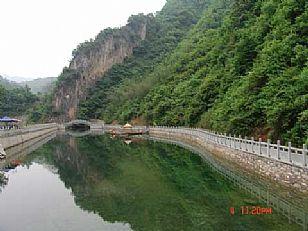 金丝峡仙人湖