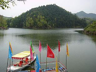 洛南县抚龙湖秀色