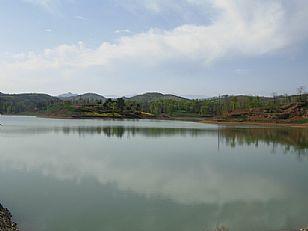 洛南县自然风光:春秀鼓楼河