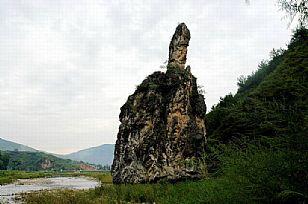 洛南县自然风光:洛南美景--灵龟负书