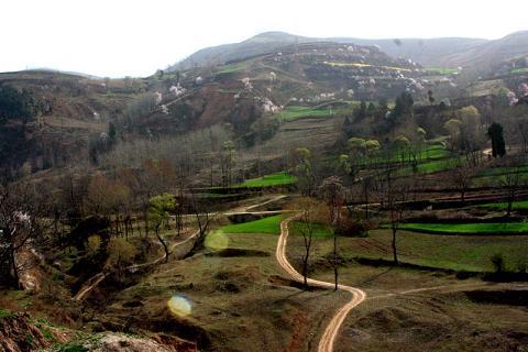 商洛景点:静泉山