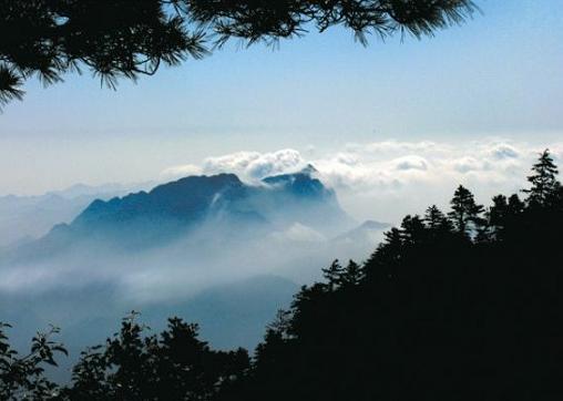 商洛景点:山阳天竺山森林公园