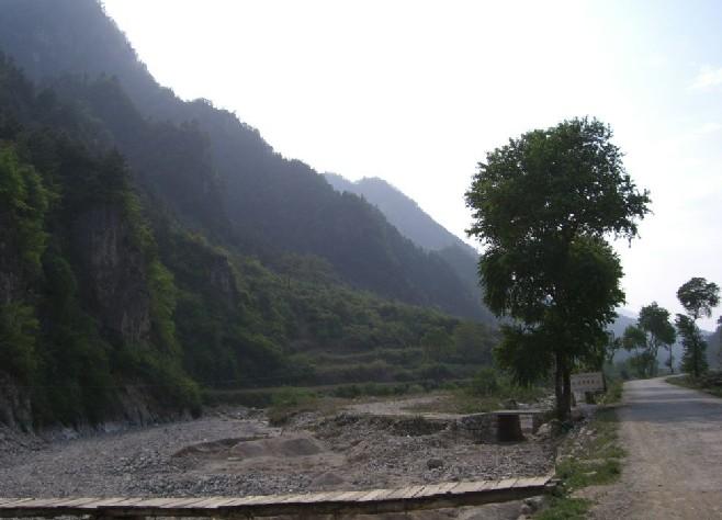 商洛景点:洛南老君山