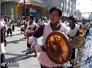 吴起县自然风光:吴起春节文化活动丰富多彩