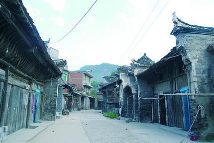 山阳漫川古镇