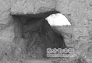 印台区自然风光:印台区刘村的明代城堡