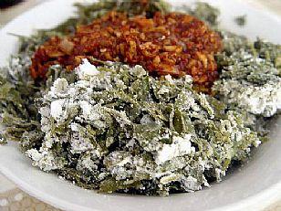 商洛市美食:香苜蓿粉蒸肉