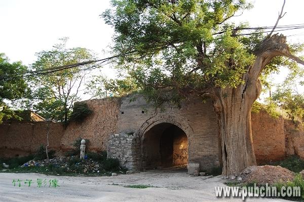 蒲城县旅游景点:陶池古城堡