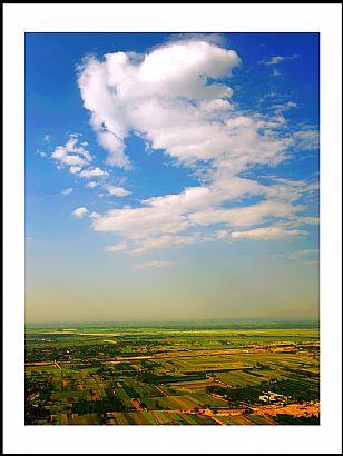 临渭区自然风光:天高云淡