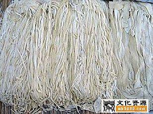 榆林市地方特产:杂面-子洲