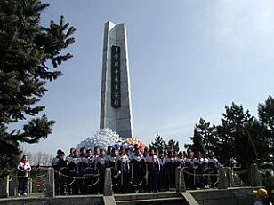 延安市旅游景点:延川县革命烈士陵园