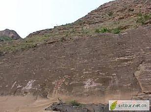 延安市旅游景点:红军崖