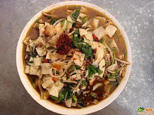 延安市美食:羊杂碎-黄龙