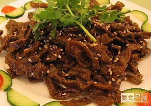 延安市地方特产:甘泉豆腐干