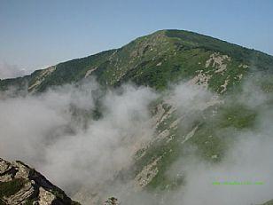 柞水县自然风光:牛背云海