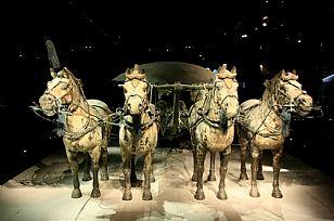 临潼区自然风光:青铜之冠――铜车马