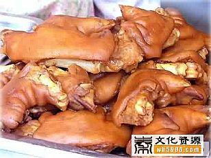 咸阳市美食:方师酱汁猪蹄