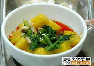临潼区美食:搅团与凉鱼