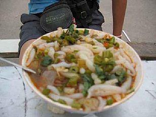兴平市美食:荞麦面鱼子