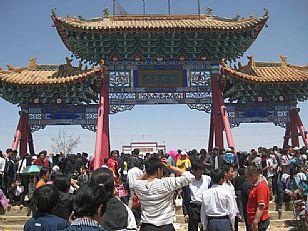 定边县旅游景点:定边安寺庙