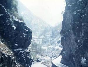 白河石门石景