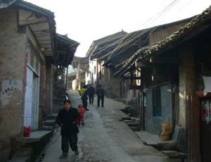 石泉熨斗古镇