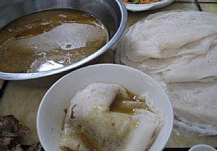 合阳县美食:同家庄镇荞面煎饼